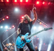 Foo Fighters and The Struts live at Merriweather Post Pavilion