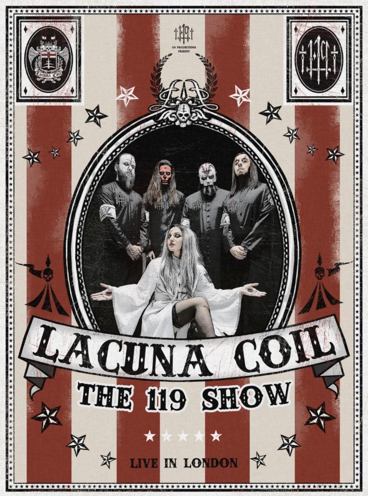 Lacuna Coil DVD cover