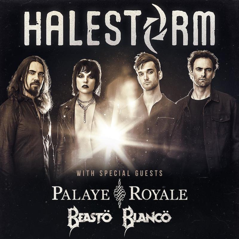 Halestorm announces 2019 North American tour dates – Live Metal