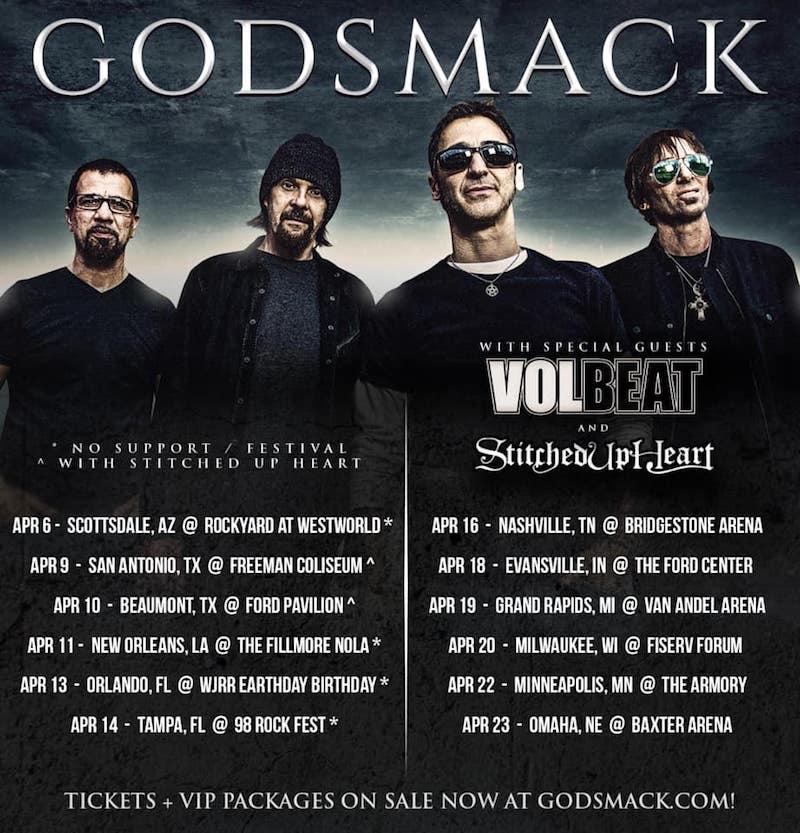 INTERVIEW: Shannon Larkin of Godsmack – Live Metal