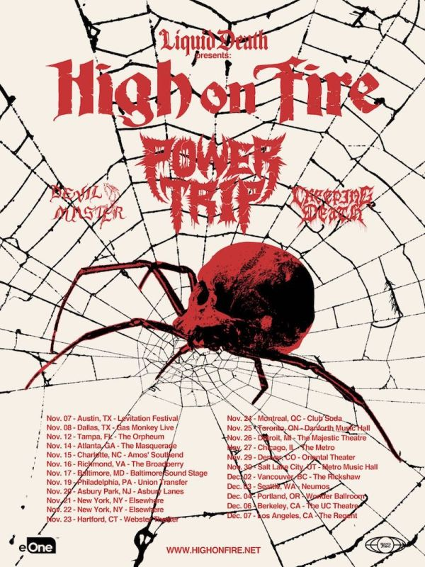 High on Fire – Live Metal
